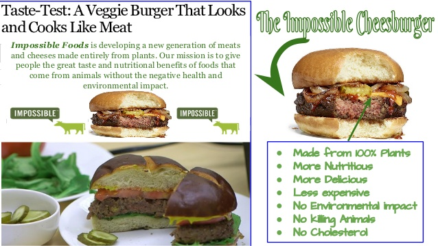 Impossible Cheeseburger
