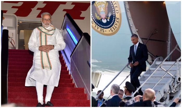 two very different arrivals.(source: india.com)